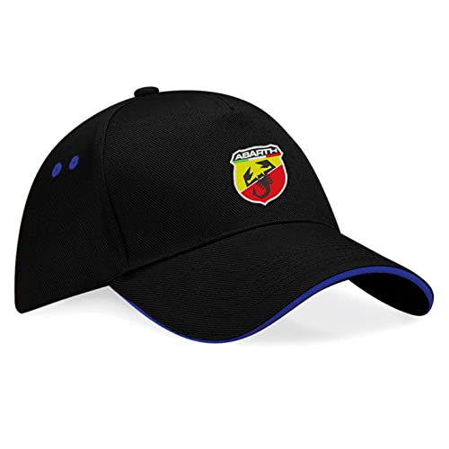 9eae338ba43 avstickerei Abarth Fiat Embroidered Baseball Cap