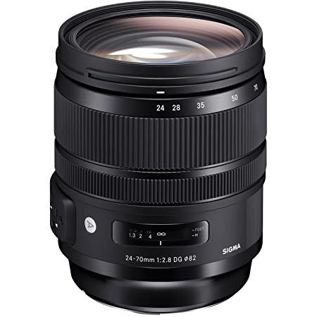 SIGMA 24-70mm F2.8 DG OS HSM | Art A017 | Canon EFマウント | Full-Size/Large-Format