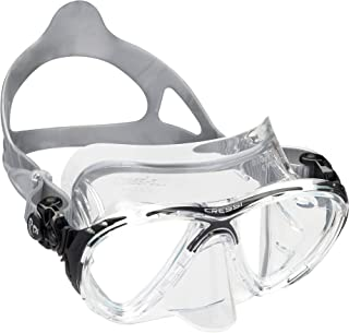 Cressi Adult high-end Scuba Diving mask Made in The Revolutionary Crystal Silicone | Big Eyes Evolution Crystal Made in Italy