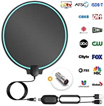 All-New 2019 Indoor HDTV Digital Antenna 4K HD Freeview...