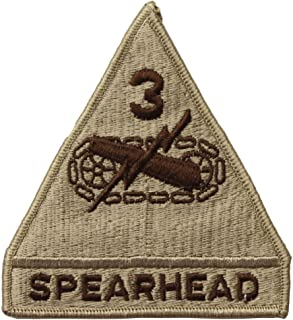 3rd Armored Division Spearhead Patch Desert