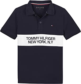 Tommy Hilfiger Boy Short-Sleeved Polo Shirts Blue