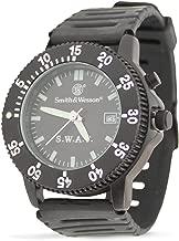 Smith & Wesson Men's SWW-45 S.W.A.T. Black Rubber Strap Watch