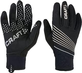 Craft Sportswear Men's Storm Windproof & Waterproof Bike Cycling Fleece Lined Gloves