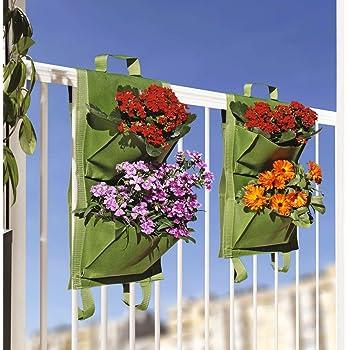 Saco Alforja Mh (20x20x12cm) para el balcón + Manual Agricultura ...