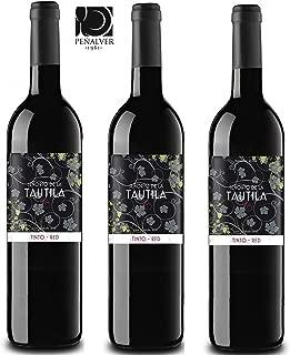 Vino desalcoholizado Señorio de Tautila Tinto 3 botellas (