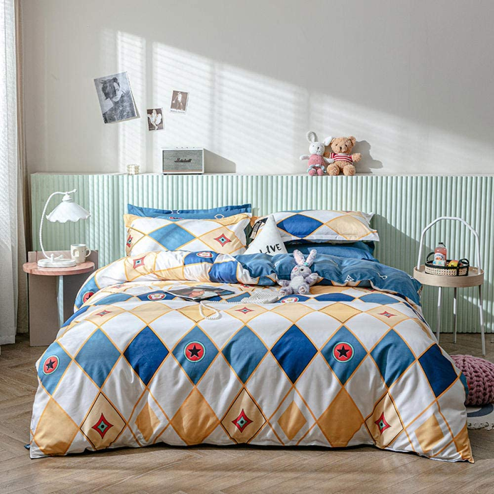 Fashionable LHNGOD Twin Duvet Cover 3 Pieces Soft Fashio Home Dallas Mall Bedding Zipper