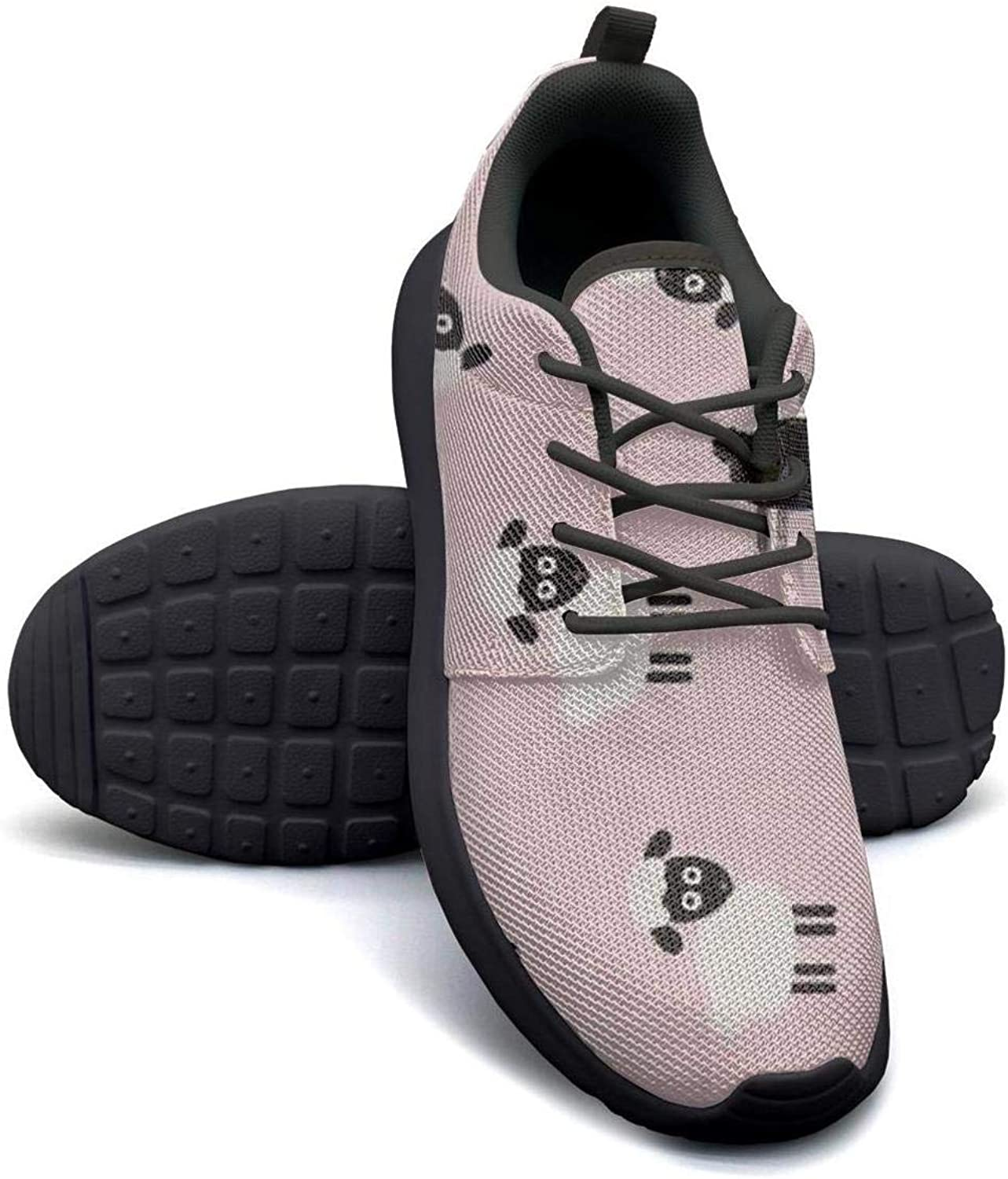 Gjsonmv Pink Minis Sheep mesh Lightweight shoes for Women Fashion Sports Gym Sneakers shoes