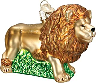 Old World Christmas King Of Beasts Glass Blown Ornament