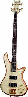 Schecter Stiletto Custom-4 Electric Bass (4 String, Natural Satin) photo