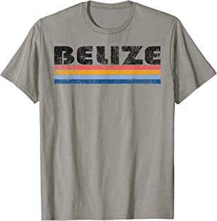 Vintage 1980s Style Belize T-Shirt