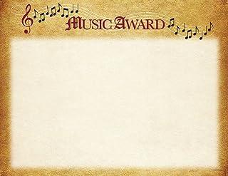 优质纸张! 音乐证书,25 支,21.59 cm x 27.94 cm(2015109)