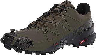 SALOMON Shoes Speedcross, Chaussures de Running Compétition Homme, Multicolore (Feuille de Vigne/Noir/FANTÔME), 40 2/3 EU