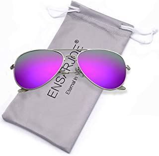 ENSARJOE Polarized UV400 Classic Aviator Sunglasses For...