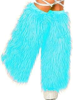 Music Legs Women's Faux Fur Leg Warmers