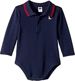 Long Sleeve Polo Bodysuit (Infant)