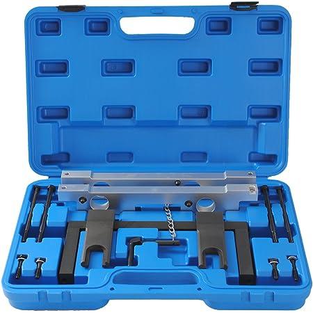 Cclife Motor Nockenwellen Einstellwerzeug Steuerkette Wechsel Arretierwerkzeug Werkzeug Kompatibel Mit Bmw 2 5 3 0 N51 N52 N52k N53 N54 Auto