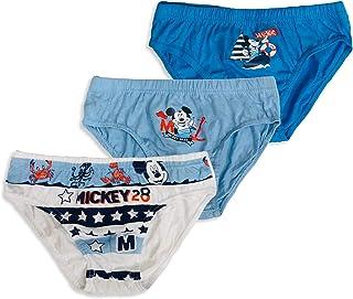 Sun City- 3 Slips niño Mickey 100% algodón