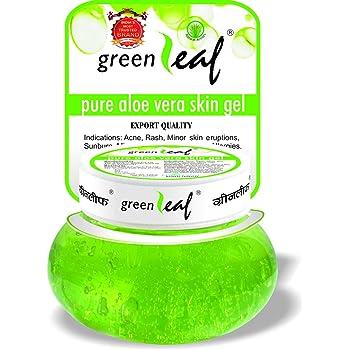 Green Leaf Pure Aloe Vera Skin Gel, 500g, 500 g