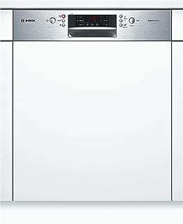 Bosch SMI46NS03E Serie 4 - Lavavajillas integrado (A++, 60 cm, 266 kWh/año, 14 MGD, acero inoxidable, supersilencioso, pantalla de 7 segmentos, secado extra-seco, cajón vario)