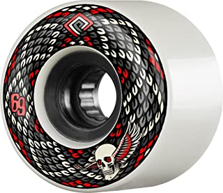 Powell-Peralta Snakes 69mm 75A Red Skateboard Wheels