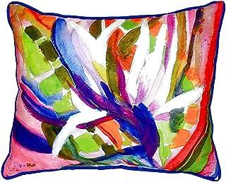 """Betsy Drake SN289 Betsy's Bird of Paradise Pillow, 11"""" x14"""""""