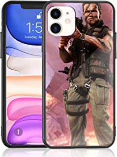 Amuoc iPhone 11 Case [ 2020 Release Creative Case ] with Rocket Launcher 9H Tempered Glass Back Cover with TPU Frame Protective Case/Compatible with Apple iPhone 11 6.1 Inch