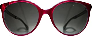 FEN Fendi 0078/S 0E0C Red Pearl Turquoise Dark Gray YE lens Sunglasses
