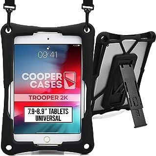 "Cooper Trooper 2K Rugged Case for 7.9-8.9"" Tablet | Tough Bumper Protective Drop Shock Proof Kids Holder Carrying Cover Ba..."