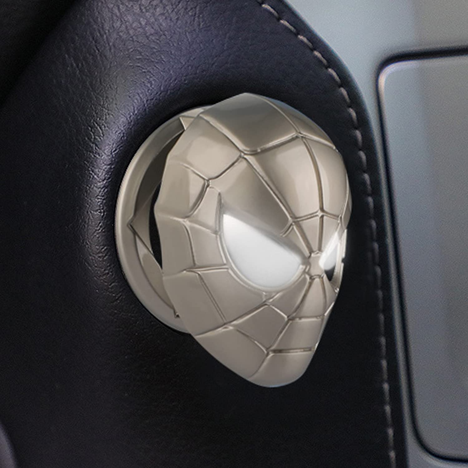 Courier shipping free shipping Car Engine Start Stop Button Sales of SALE items from new works - Push Cover Spiderman