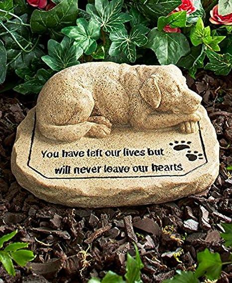 Pet grave marker Pet keepsake In loving memory Dog memorial Pet loss memorial Pet garden memorial Stone memorial Grave marker Pet loss rock