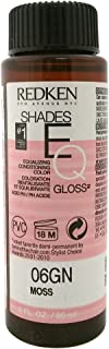 Redken Shades EQ Gloss for Women Hair Color, Moss, 2 Ounce