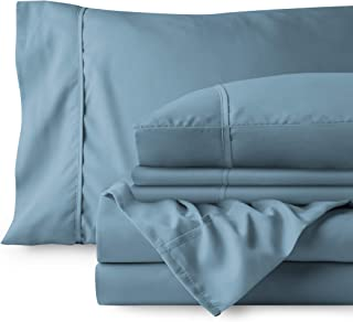 Bare Home 4 Piece Twin XL Bed Sheets - 1800 Deep Pocket Twin Extra Long Sheet Set - Ultra-Soft Sheets - 2 Pillowcases (Twi...