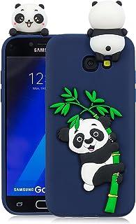 ba84c362a63 HopMore Funda Samsung Galaxy A5 2017 Silicona Motivo 3D Divertidas Unicornio  Panda Bonita Ultrafina Slim Case