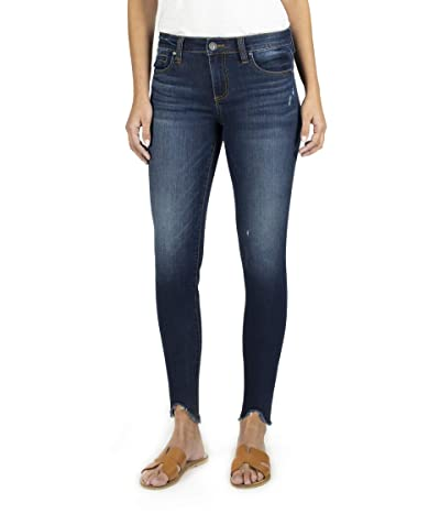 KUT from the Kloth Connie Ankle Skinny with Step Fray Hem in Taste (Taste) Women