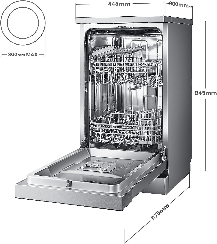 COMFEE' Slimline Freestanding Dishwasher