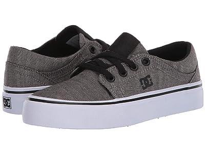 DC Kids Trase TX SE (Little Kid/Big Kid) (Dark Grey) Boys Shoes