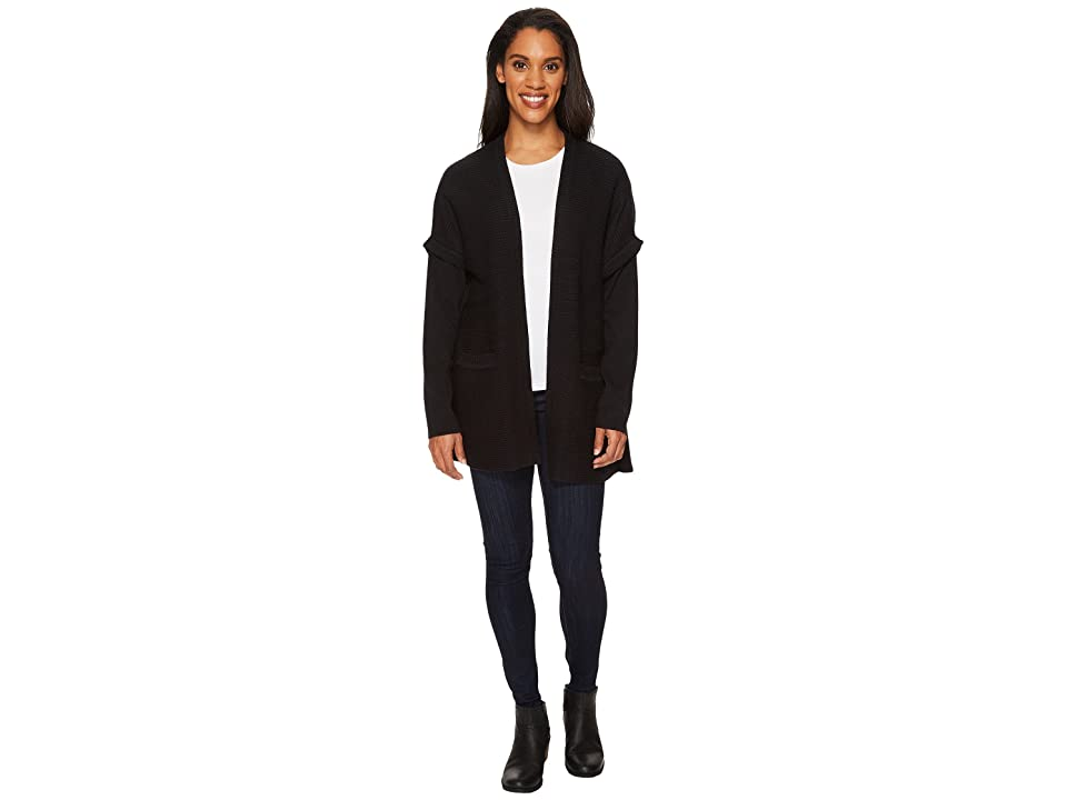 ExOfficio Gabriola Cardigan (Black) Women