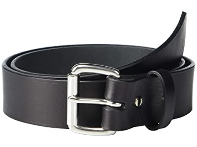 Filson 1 1/2 Leather Belt (Black) Men