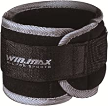 Winmax Unisex Adult WMF09167 Weight Straps For Ankles - Black, 1kg