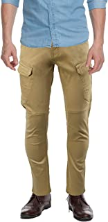 X RAY Men's Slim-Fit Cargo Pants, Flex Stretch Tactical Casual Pant for Work Construction Military Outdoor Hiking