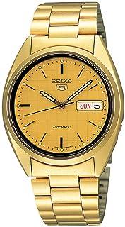 Seiko 男士模拟自动手表不锈钢表链 - SNXL72
