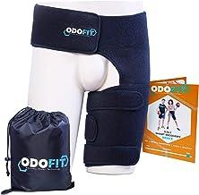 ODOFIT برش پشتیبانی منحصر به فرد برای جراحی نخاع Quadricep بسته بندی رین - آستین فشرده سازی همسترینگ برای مردان و زنان - سینوزیت تسکین درد عصب - تسمه آسیب برای فشار عضلانی پالسی