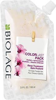 BIOLAGE ColorLast paquete de tratamiento profundo   Máscara de pelo de uso múltiple   Vegano y sin parabenos   para cabello tratado con color   3.4 onzas Oz.