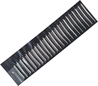 Vencetmat 2.9mm Crowning Width Jumbo Fret Wire 24-Frets for Electric Guitar & Bass Fingerborad Fret Replacement Individually Wrapped