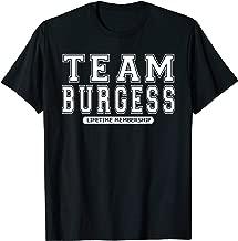 Team BURGESS Family Surname Reunion Crew Member Gift T-Shirt