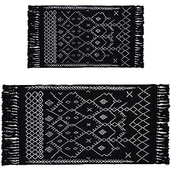 2 x3 2 x4 3 rug set boho bathroom rug set black small rug