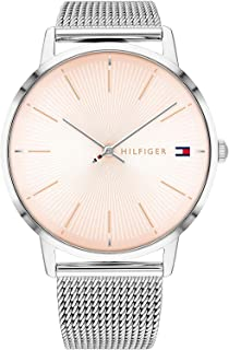 Tommy Hilfiger Women's Analogue Quartz Watch with Stainless Steel Strap 1782244