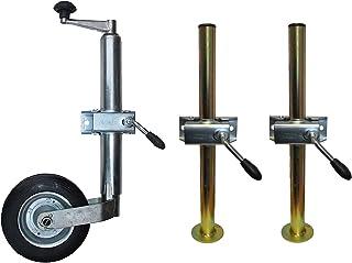 leisure MART Trailer Caravan Jockey wheel spare pneumatic tyre and metal wheel Pt no LMX451