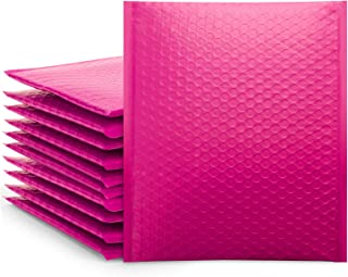 Pink 8.5x12 Poly Bubble Mailers, Self-Seal Shipping Bags, Packaging Bags, Bubble Padded Mailing Shipping Envelopes, Packag...